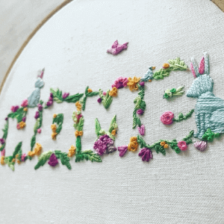 Easter Crafts - Hand Embroidery Kit