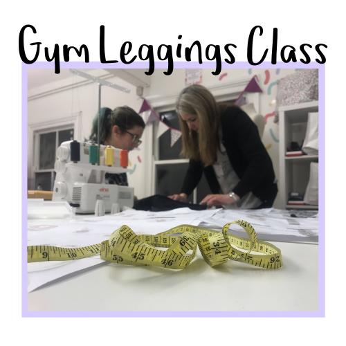 Gym Leggings Class Icon