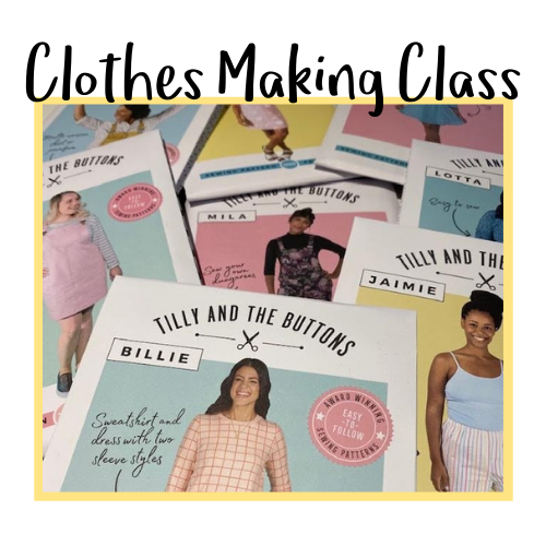 Clothes Making Class Icon