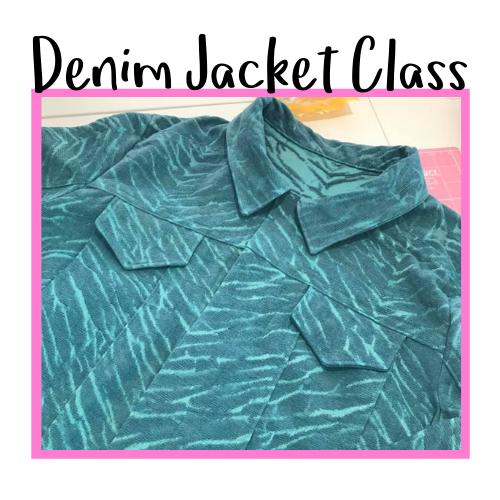 Denim Jacket Class Icon