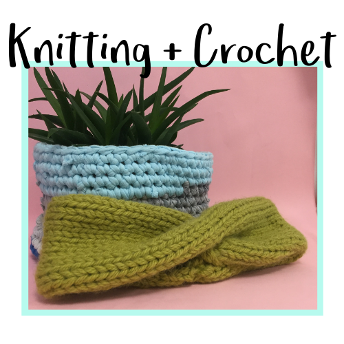 Knitting and Crochet Class Icon