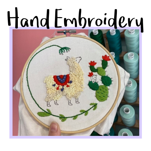 Hand Embroidery Class Icon